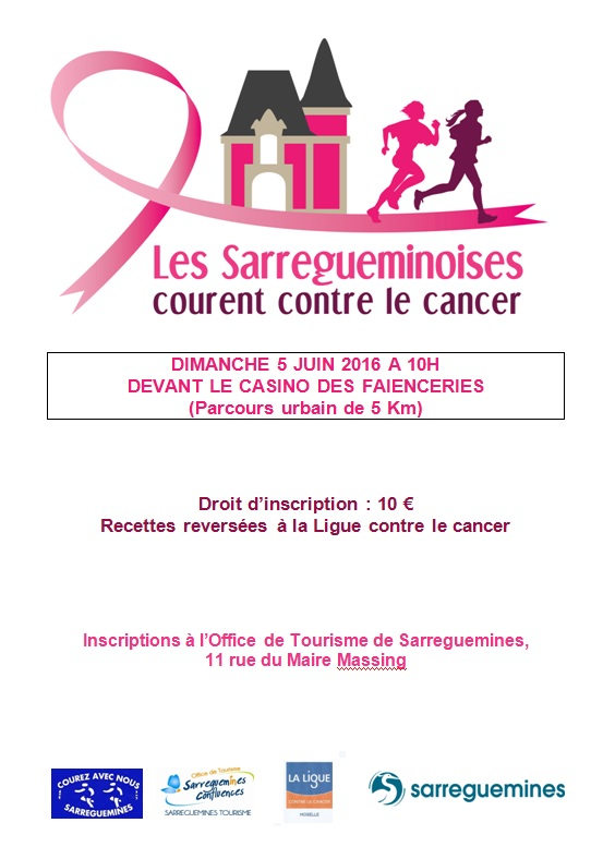 Les Sarregueminoises courent contre le cancer