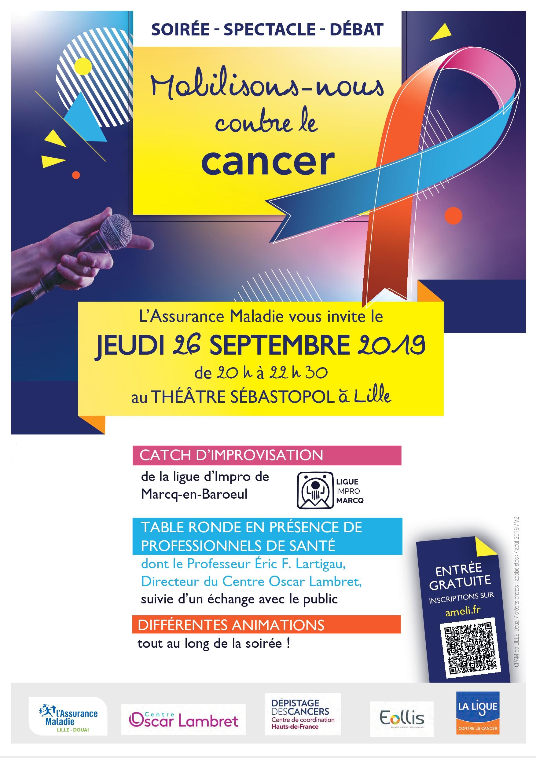 Affiche CPAM Lille-Douai
