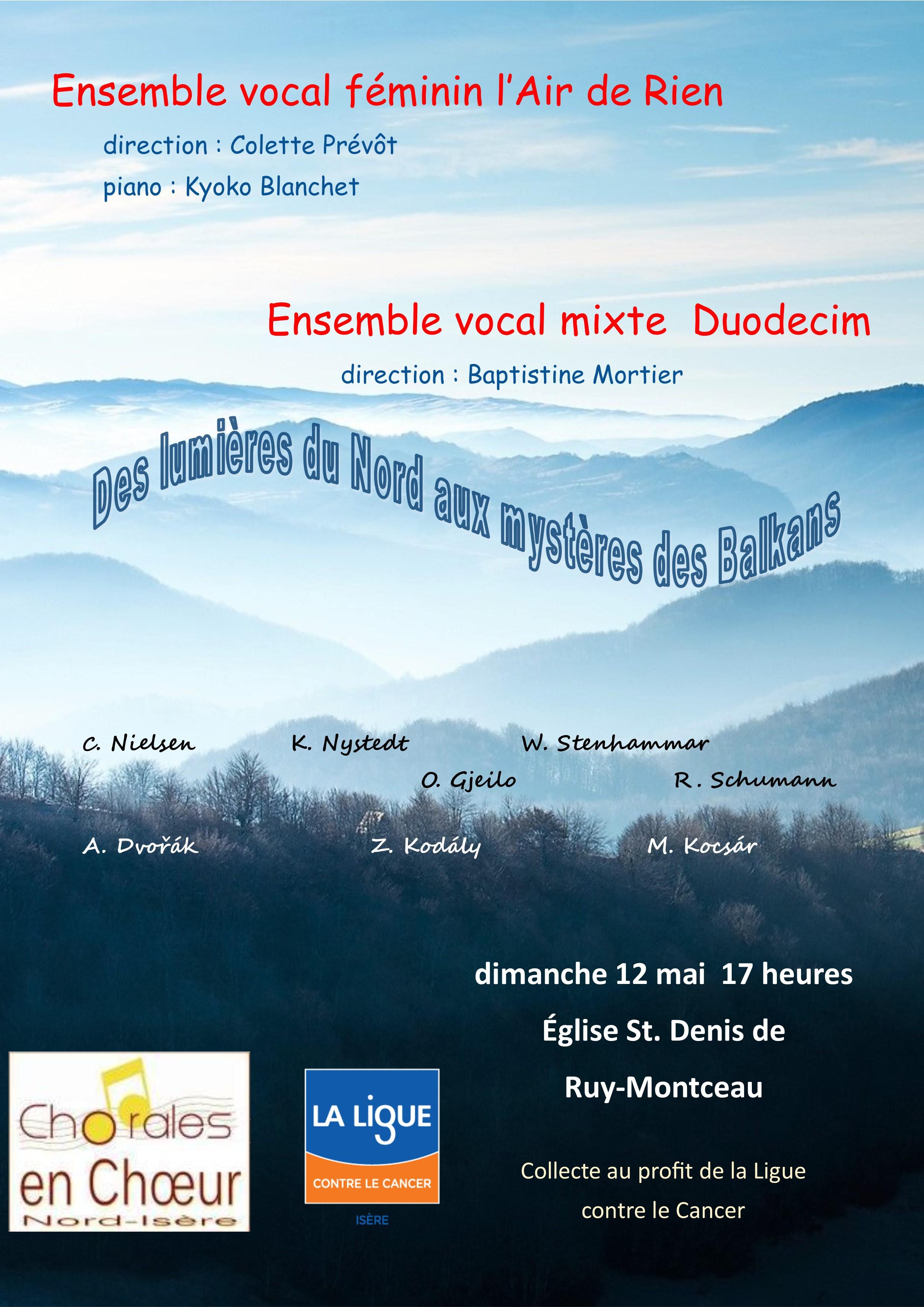 Concert Ruy Montceau 12 mai 2019