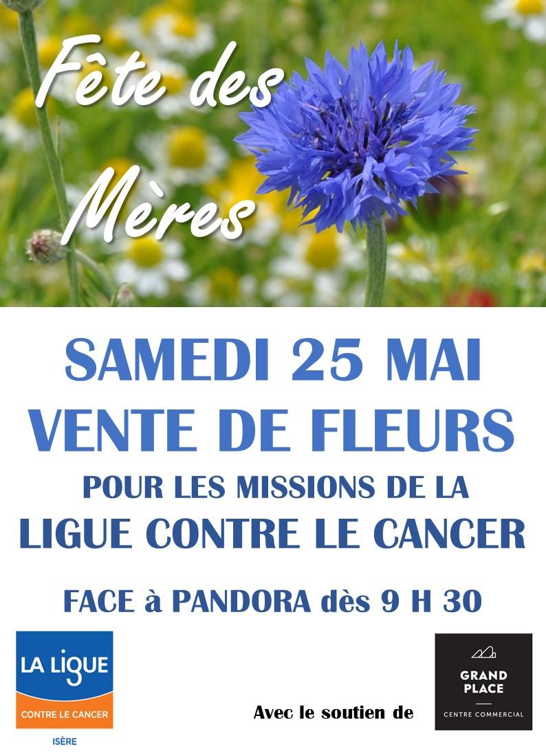 Fête des Mères Une fleur pour la Ligue contre le cancer
