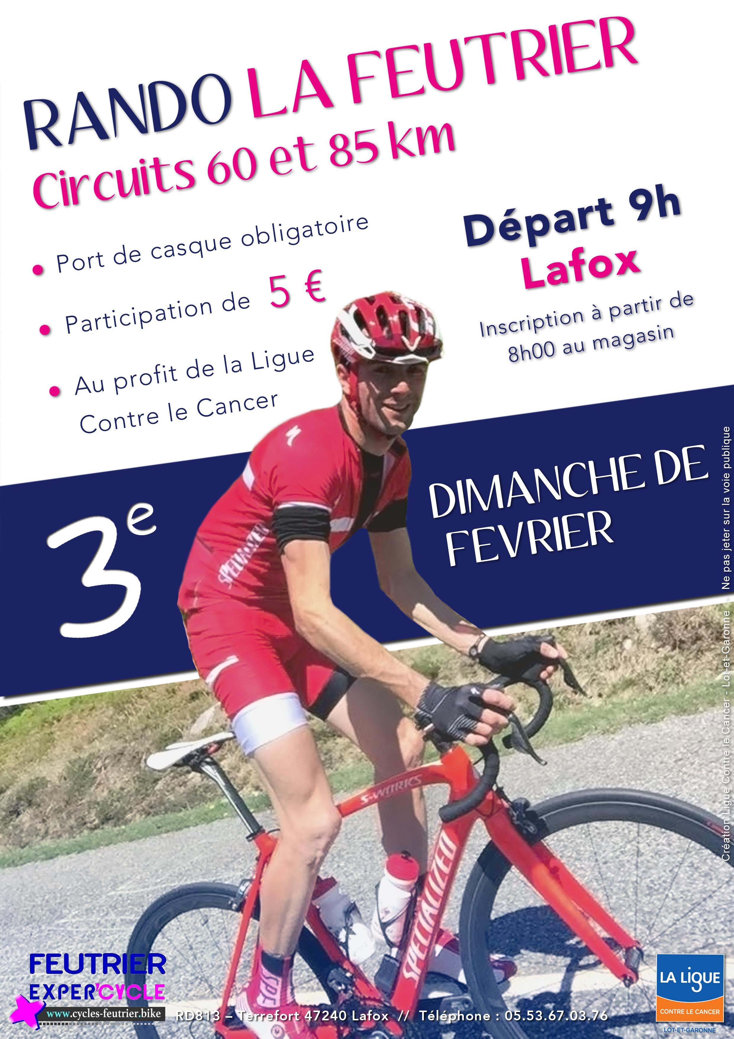 Calendrier Randonnee Pedestre Lot Et Garonne.Randonnee La Andre Feutrier 2017 Ligue Contre Le Cancer