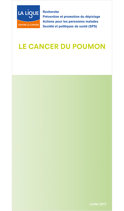 Le cancer du poumon