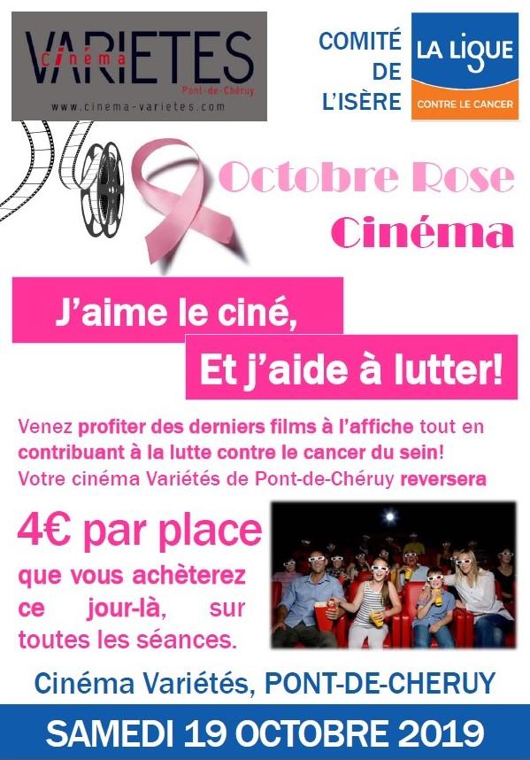 Cinéma Variétés Octobre Rose 2019