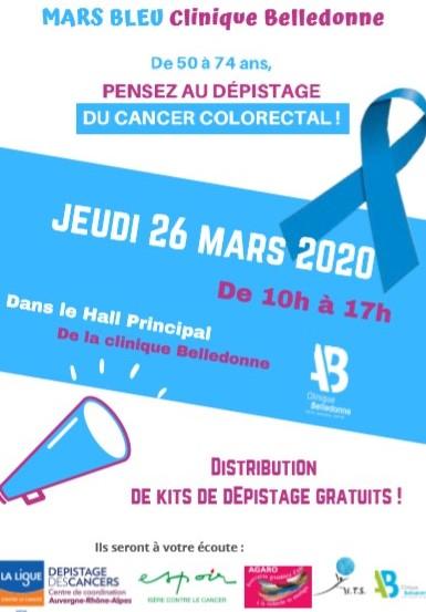 Mars Bleu 2020 Clinique Belledonne