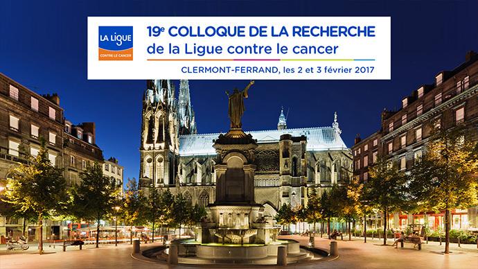 Colloque de la Recherche à Clermont-Ferrand