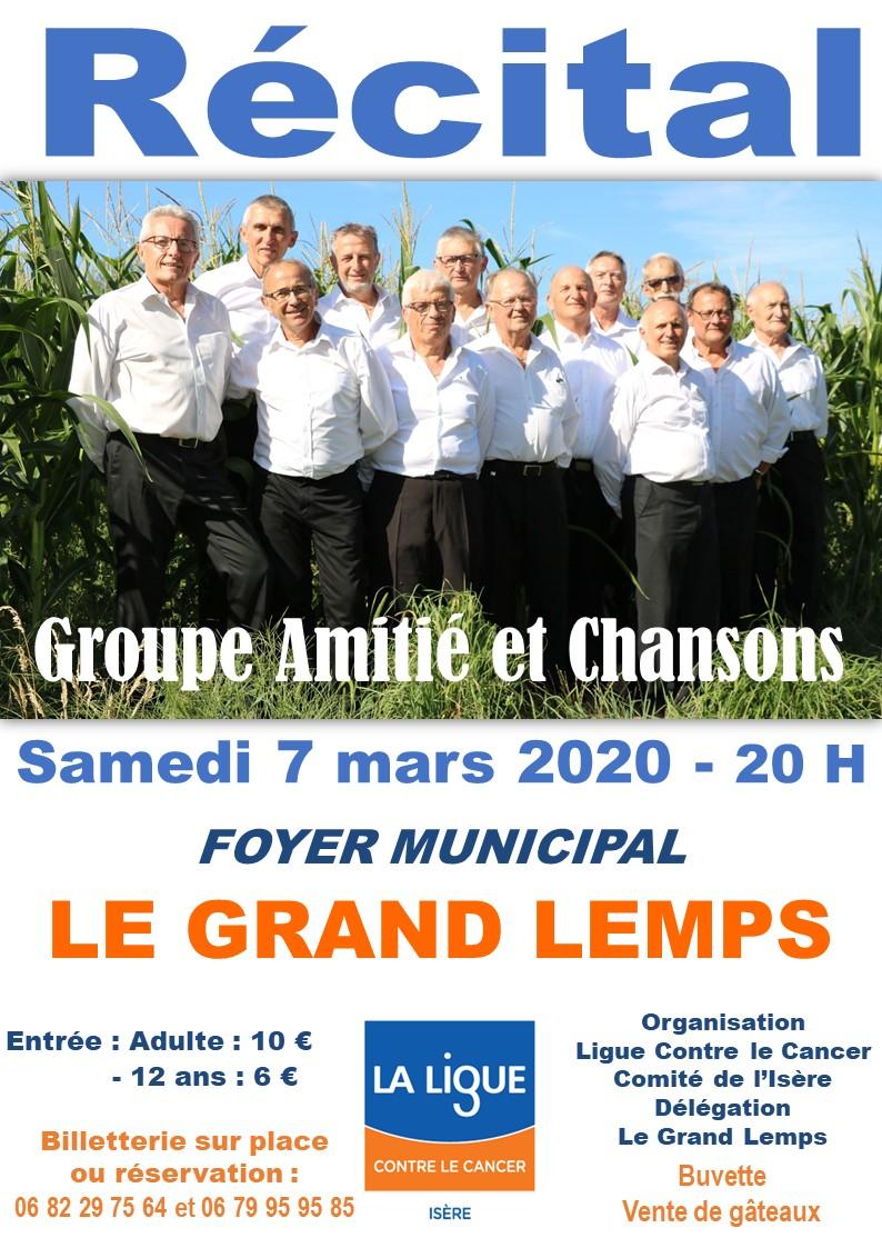 Groupe  Amitié et Chansons Le Grand Lemps