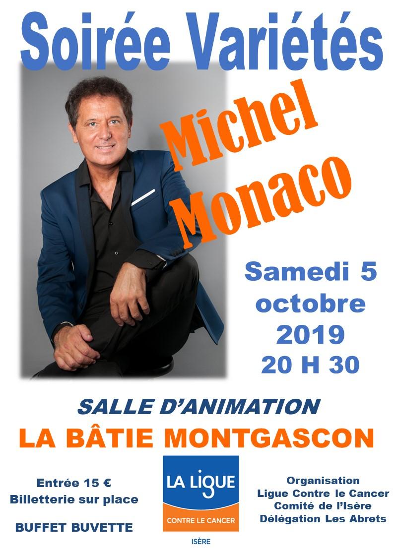 Michel Monaco à La Bâtie Montgascon