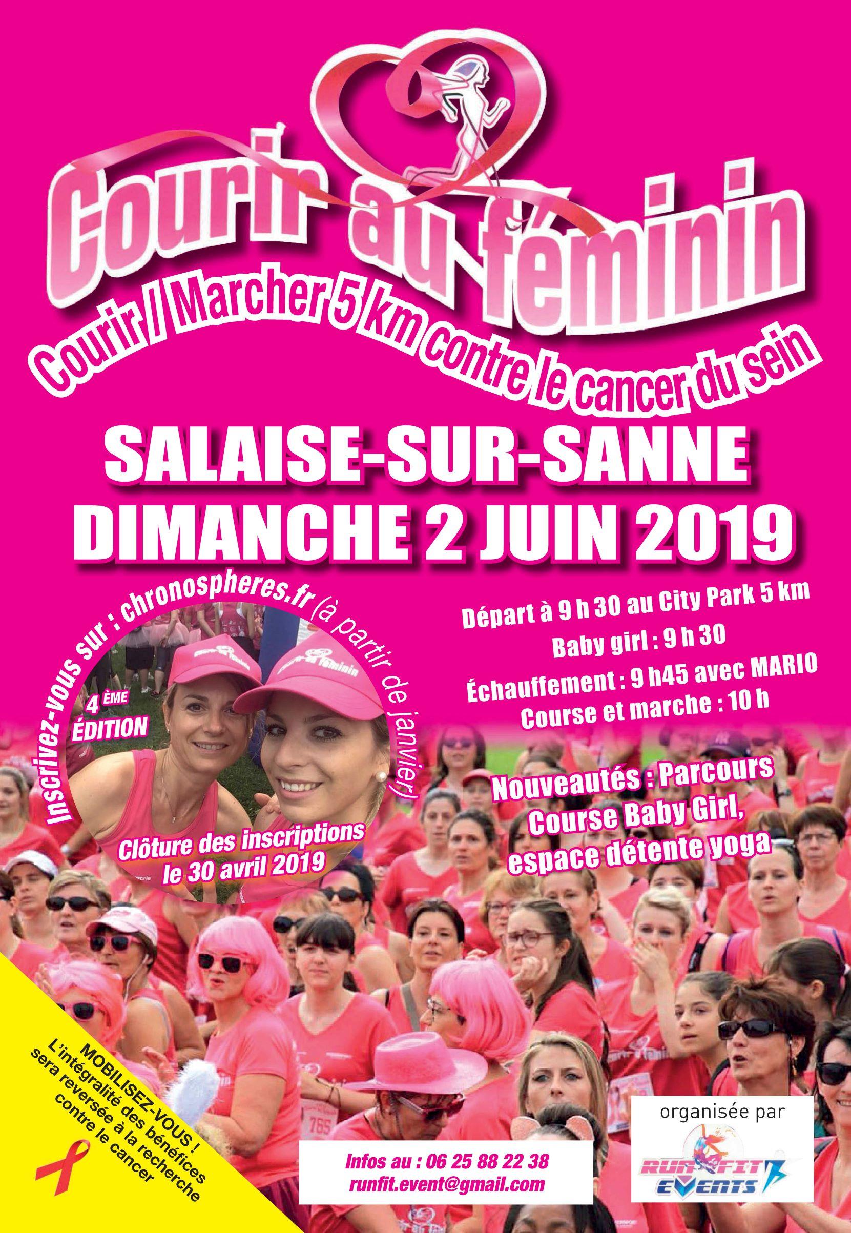 Courir au Féminin 2019