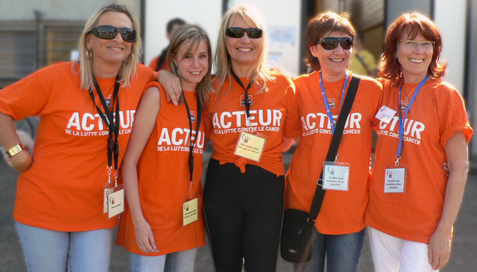 Bénévole à la Ligue contre le cancer