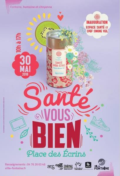 Forum Santé Vous Bien Fontaine 30 mai 2018