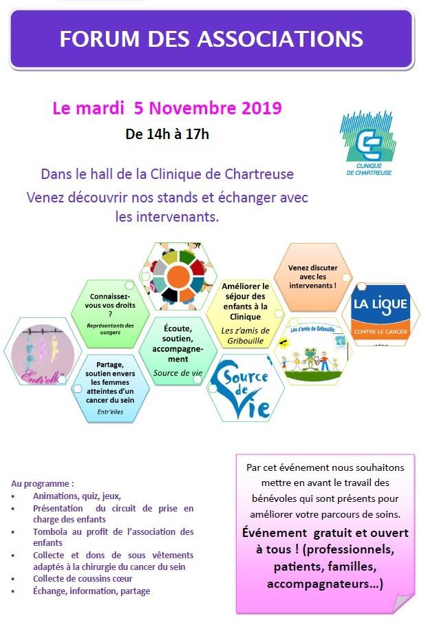 Forum Association Clinique Chartreuse Voiron