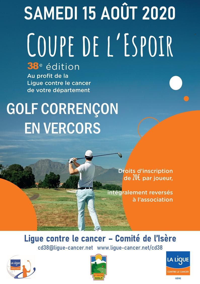 golf Corrençon en Vercors Coupe de l'Espoir