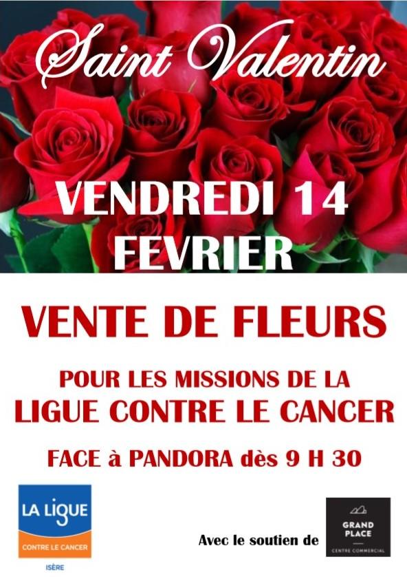 Grand Place St Valentin des Roses pour la Ligue