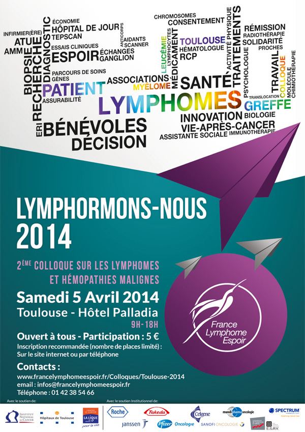 2ème colloque France Lymphome à Toulouse
