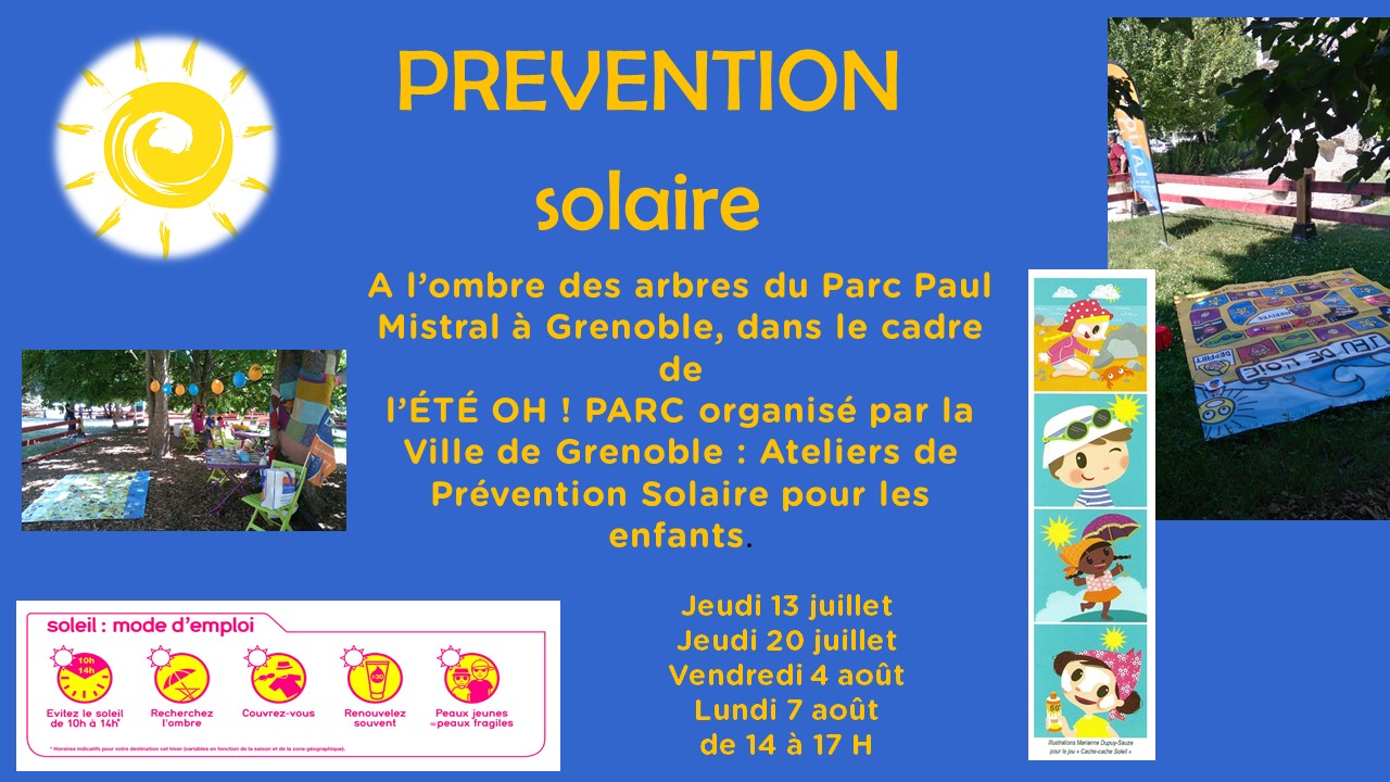 Ateliers de prévention solaire