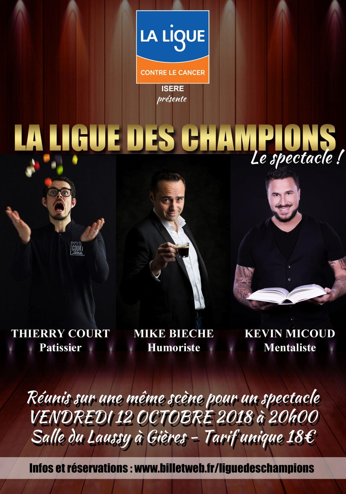 Kevin Micoud Mickael Bieche Thierry Court Gières 12 octobre 2018