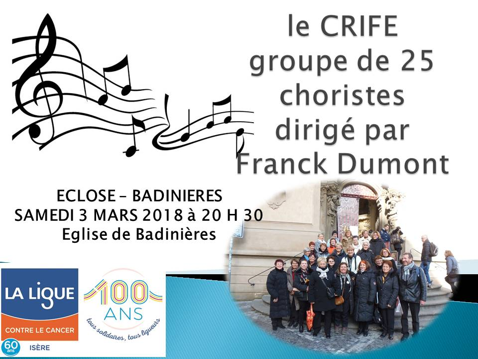 Chorale à Eclose-Badinières