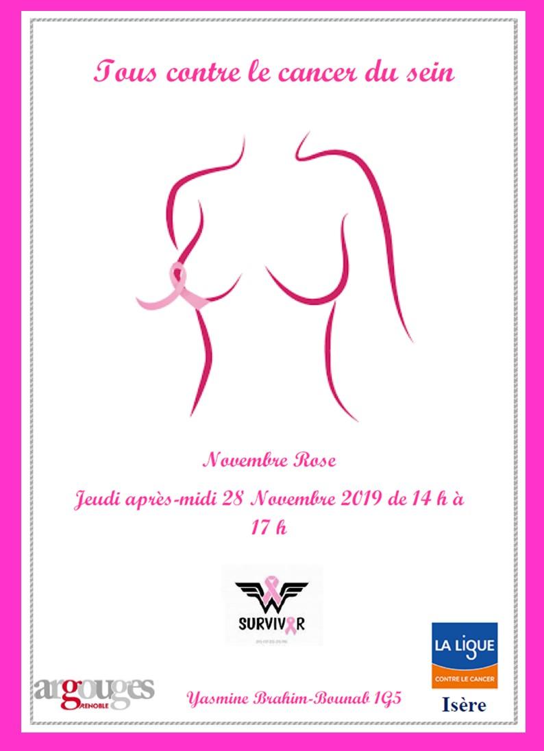 Lycée Argouges Information sur le cancer du sein