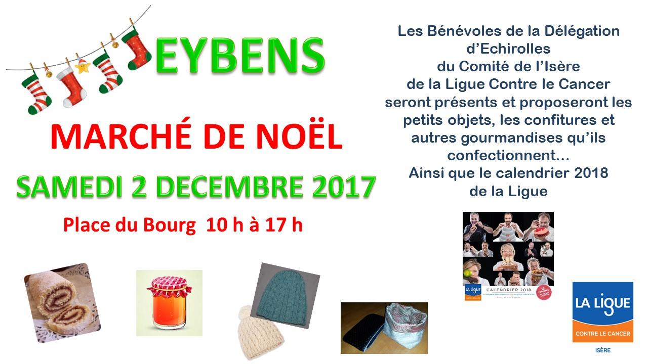 Marché de Noël à Eybens