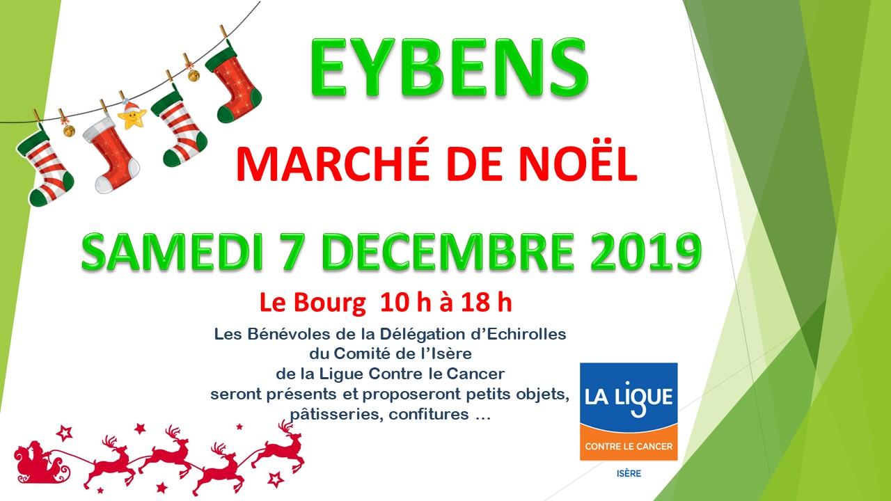 Marché de Noël 2019 à Eybens