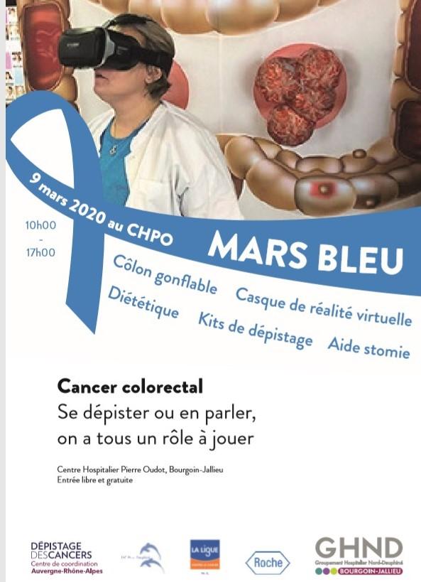 Mars Bleu CHPO Bourgoin Jallieu 9 mars 2020