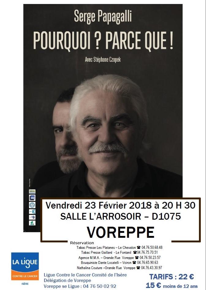 Papagalli à Voreppe le 23 février 2018