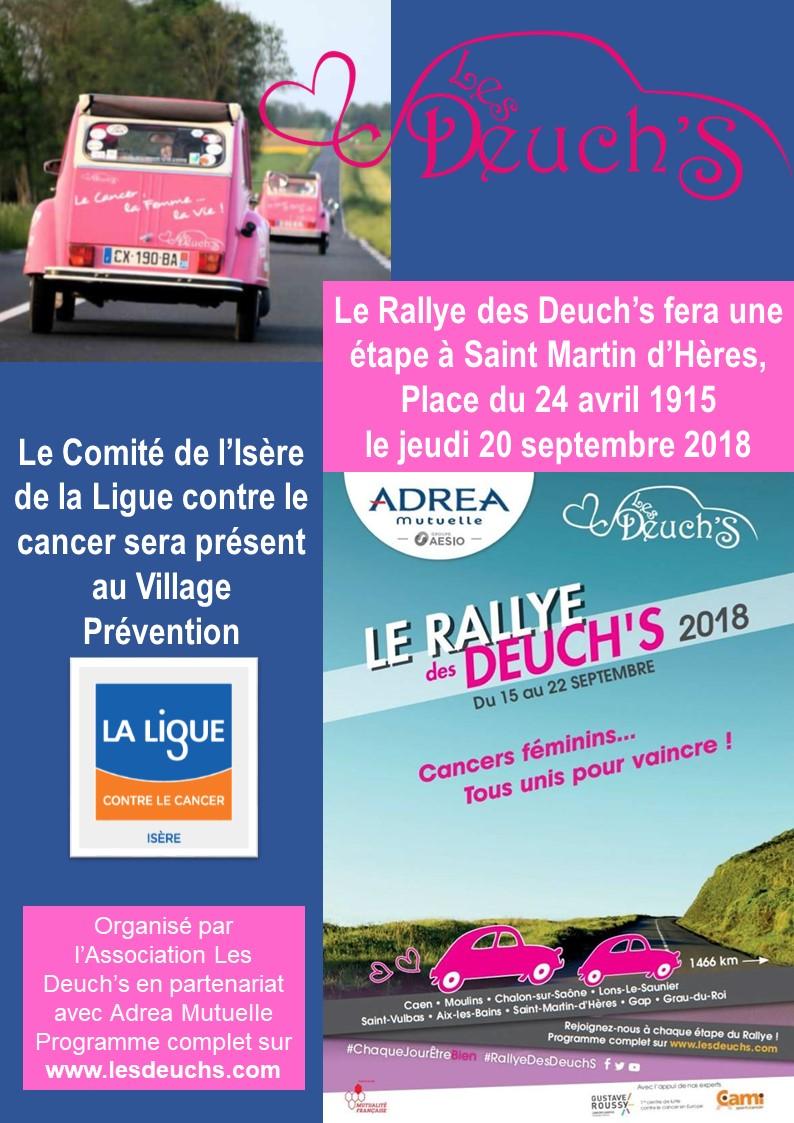 Rallye des Deuch's 2018