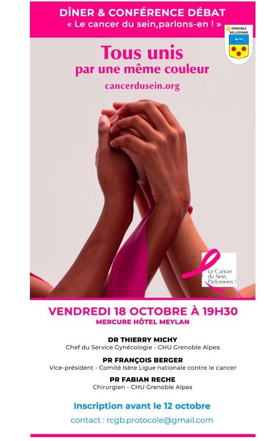 Rotary Grenoble Belledonne Octobre Rose 2019