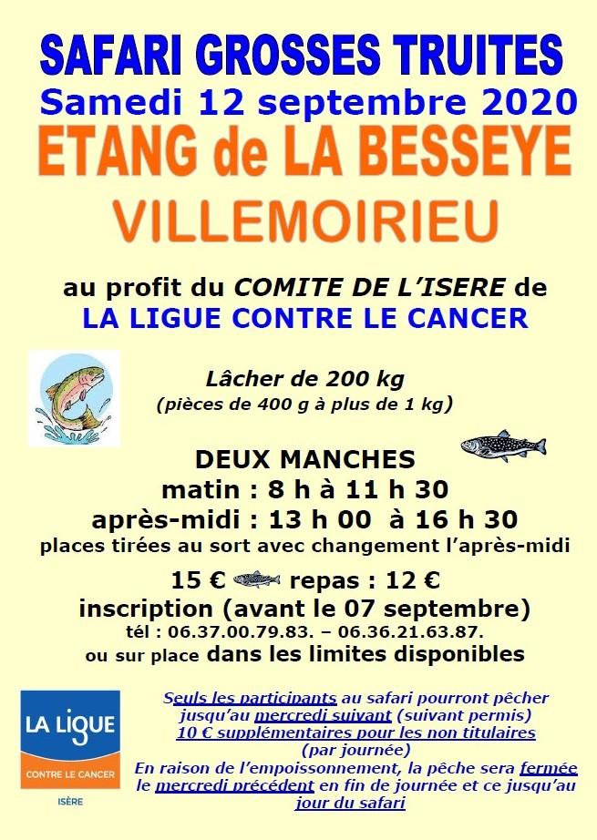 Safari Pêche La Besseye 12 septembre 2020