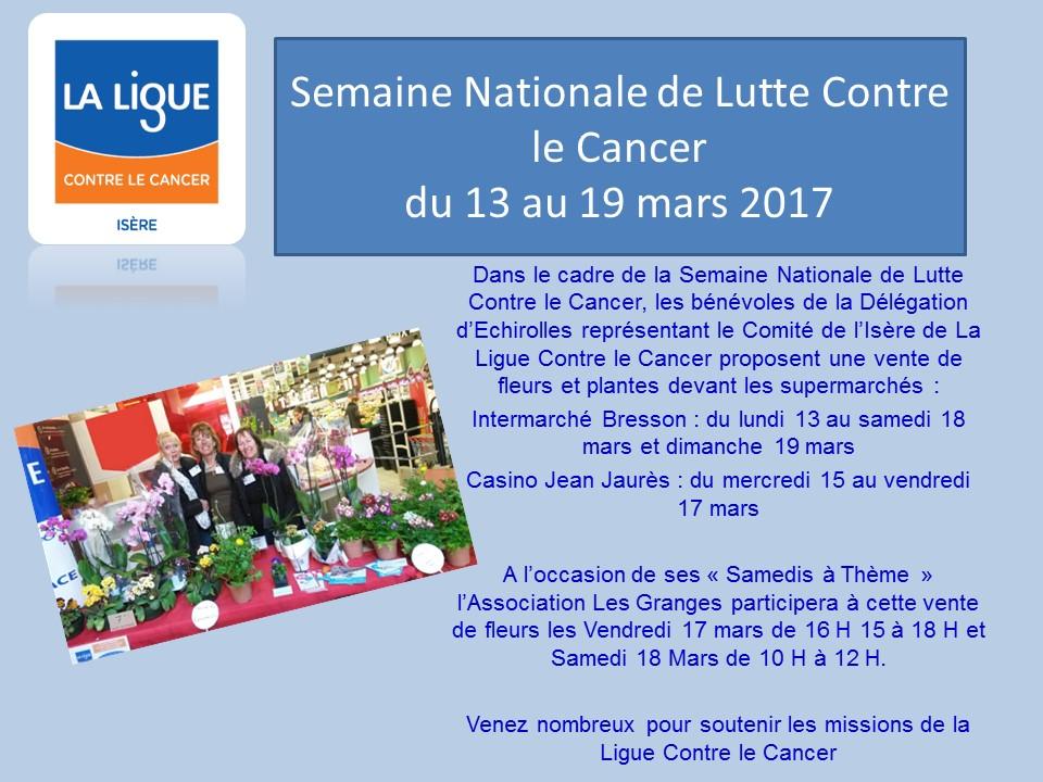 Semaine nationale de la ligue contre le cancer ligue - Cuisiner avec les aliments contre le cancer pdf ...