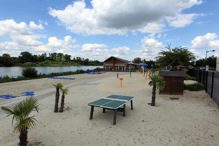 SAINT QUENTIN 2012 : Plage de l'Etang d'Isle
