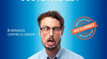 Grimaces contre le cancer