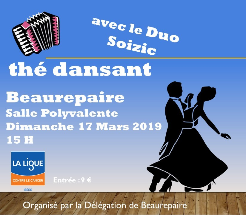Thédansant Beaurepaire 17 mars 2019