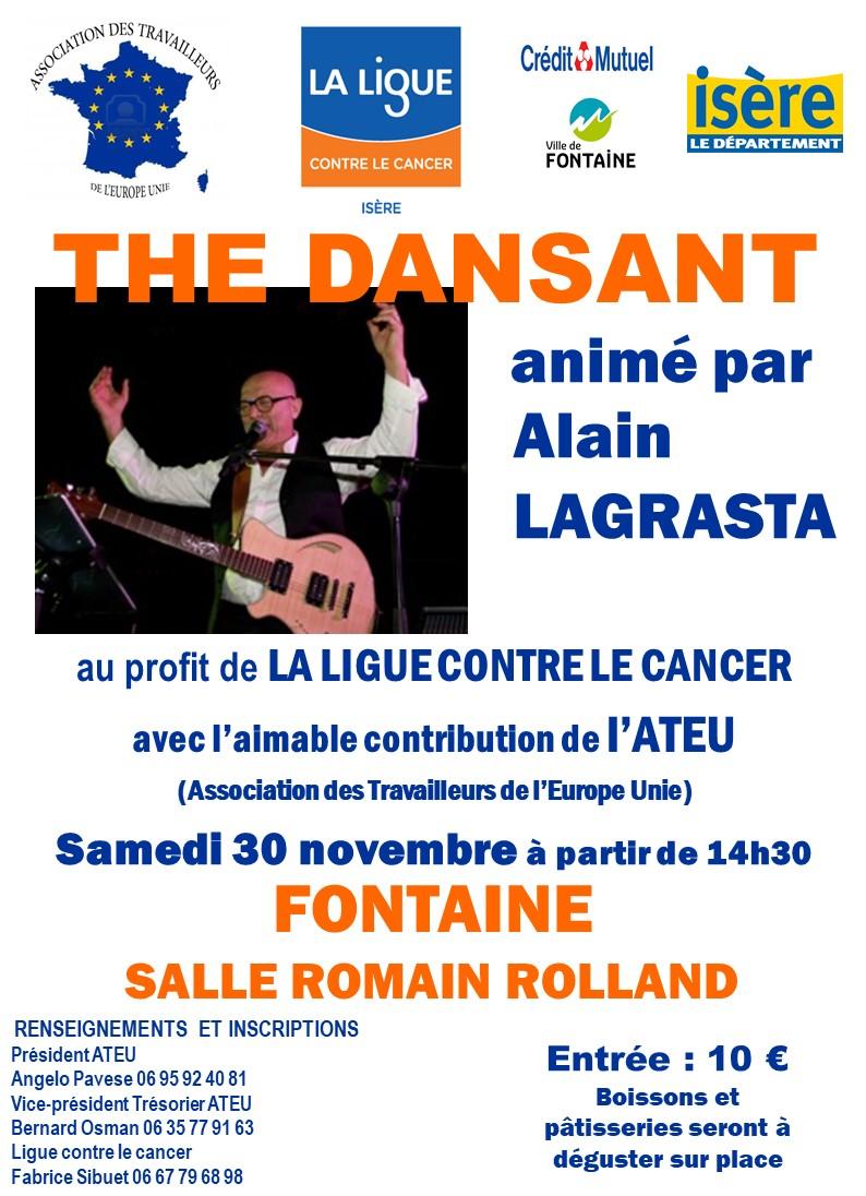 Thé dansant à Fontaine 30 novembre 2019