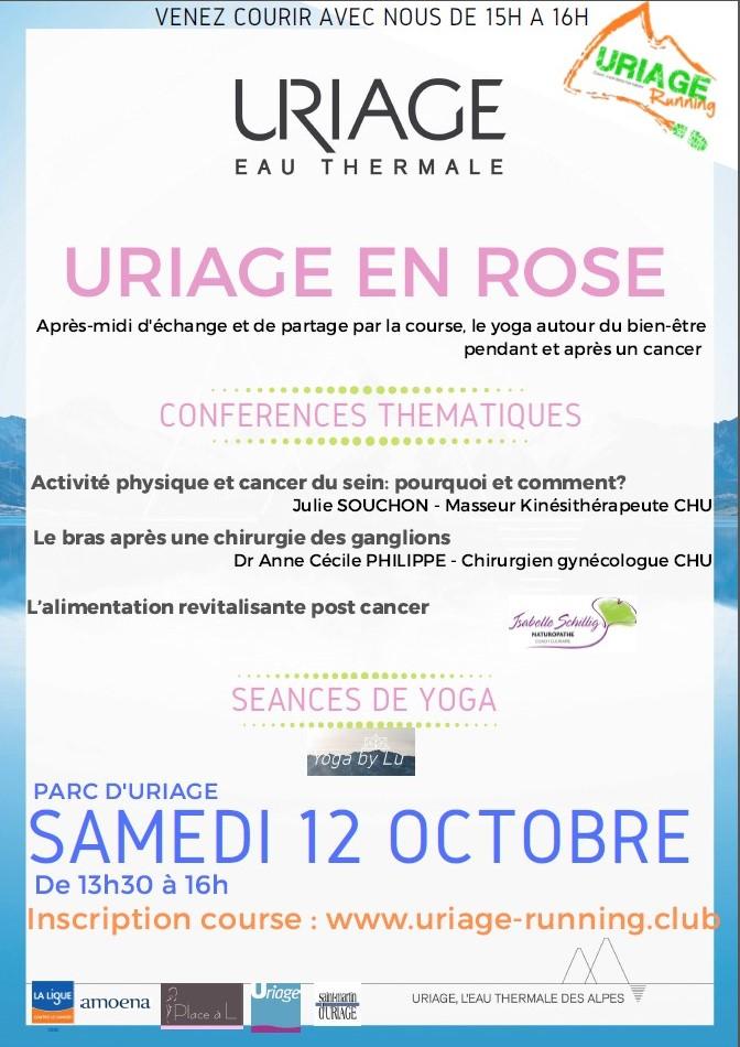 Uriage en Rose samedi 12 octobre 2019